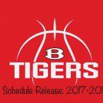 Boy's Basketball 2017-2018