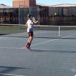 SBMS Tennis Defeats Groesbeck