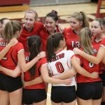 JV Volleyball finishes season big sweep over Killeen
