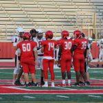 JV Red Football Photos