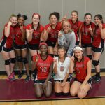 NBMS Volleyball-8B DISTRICT CHAMPS!