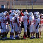 LBMS 8th Grade Football Results vs Cove Jr. High