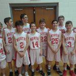 NBMS 7th Grade Basketball Vs. Travis
