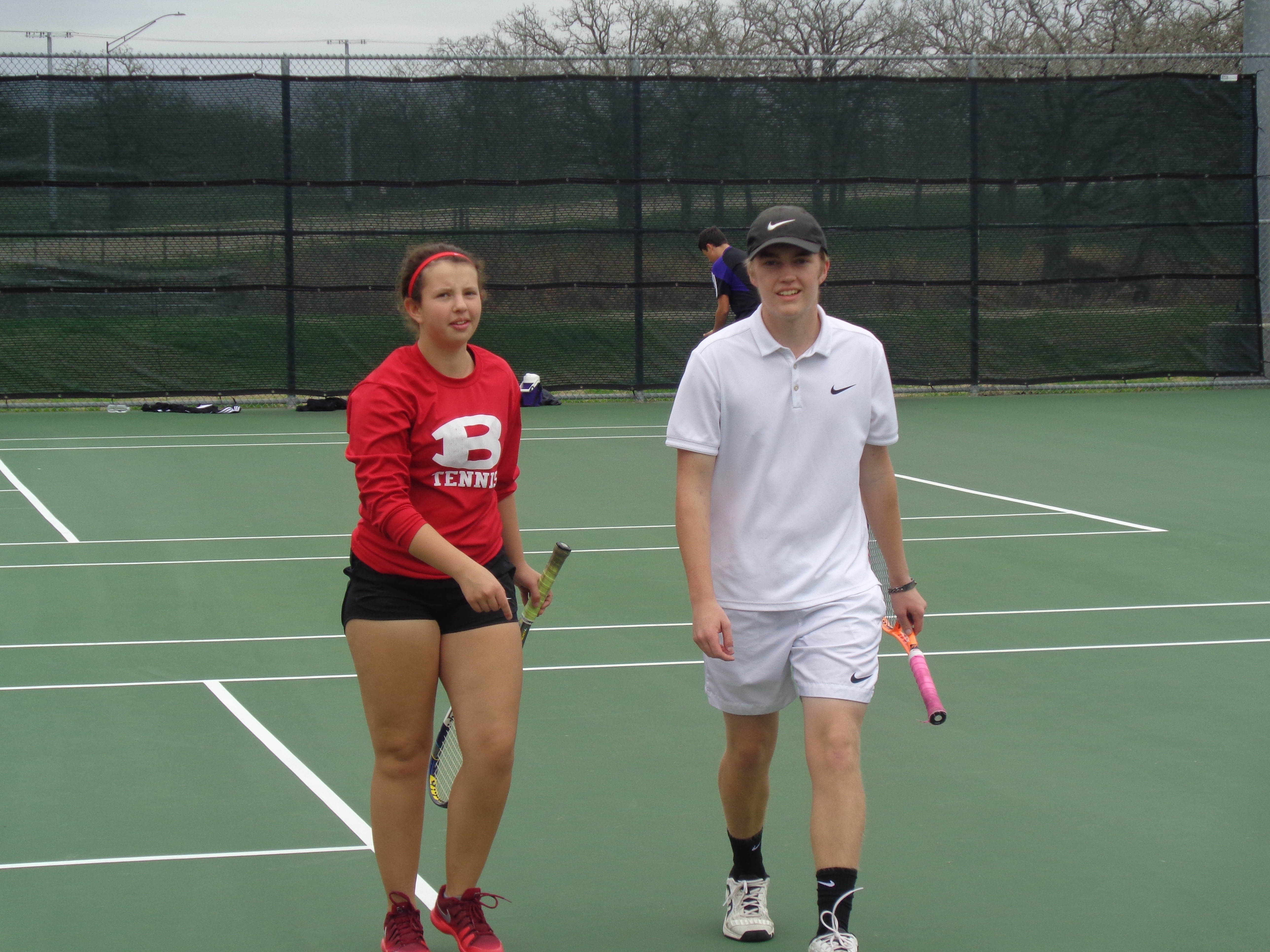 Tiger Tennis Finishes 4th at College Station