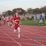 LBMS Boys Track Results for South Belton Meet