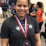 Lady Tigers Compete at THSWPA State Meet Over Spring Break; Rodriguez Medals