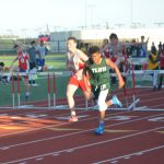 NBMS Boys at Midway Track Meet