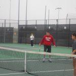 Varsity Tennis at Leander Tournament