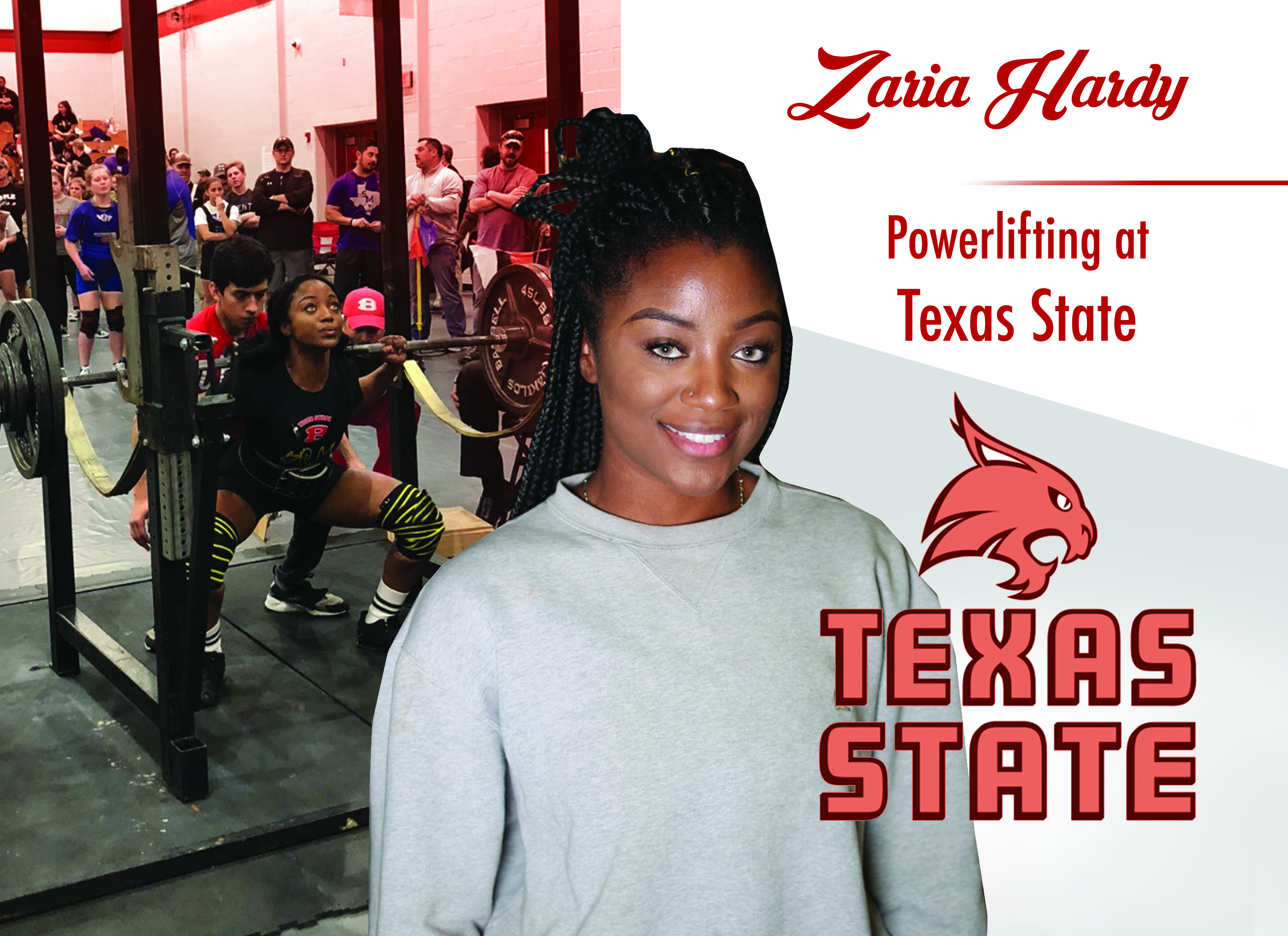 Zaria Hardy signs with Texas State