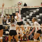 Lady Tigers play hard in day one of Westwood Volleyball Showcase