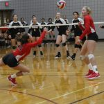 Lady Tigers bounce back from early loss, take two at Northwest ISD Tourney