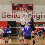 Lady Tigers Volleyball outlasts Temple in five games