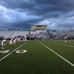 Freshmen Red Early Mauling Ended Due to Lightning