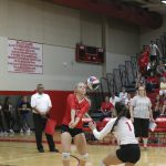 Lady Tigers Volleyball battles through four tough games