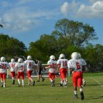 NBMS 8th A Football vs Lamar Middle