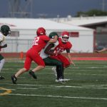JV White, Lexington end in scoreless tie after lightning delay in second quarter