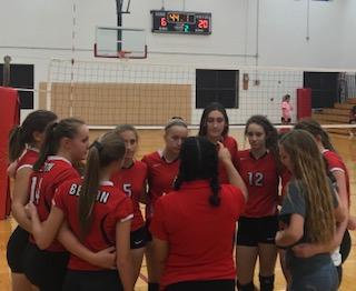 Belton volleyball sweeps Harker Heights