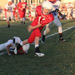 NBMS 7A unable to gain momentum against Midway Blue 7A, fall to Panthers 40-7