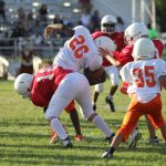 NBMS 7th Grade Football vs Midway Red