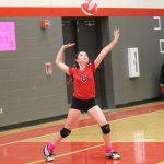 Lake Belton Middle School volleyball against Cove Lee