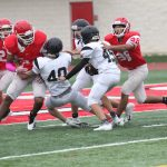 Looking for answers: Freshmen Grey fall to Vandegrift 29-0