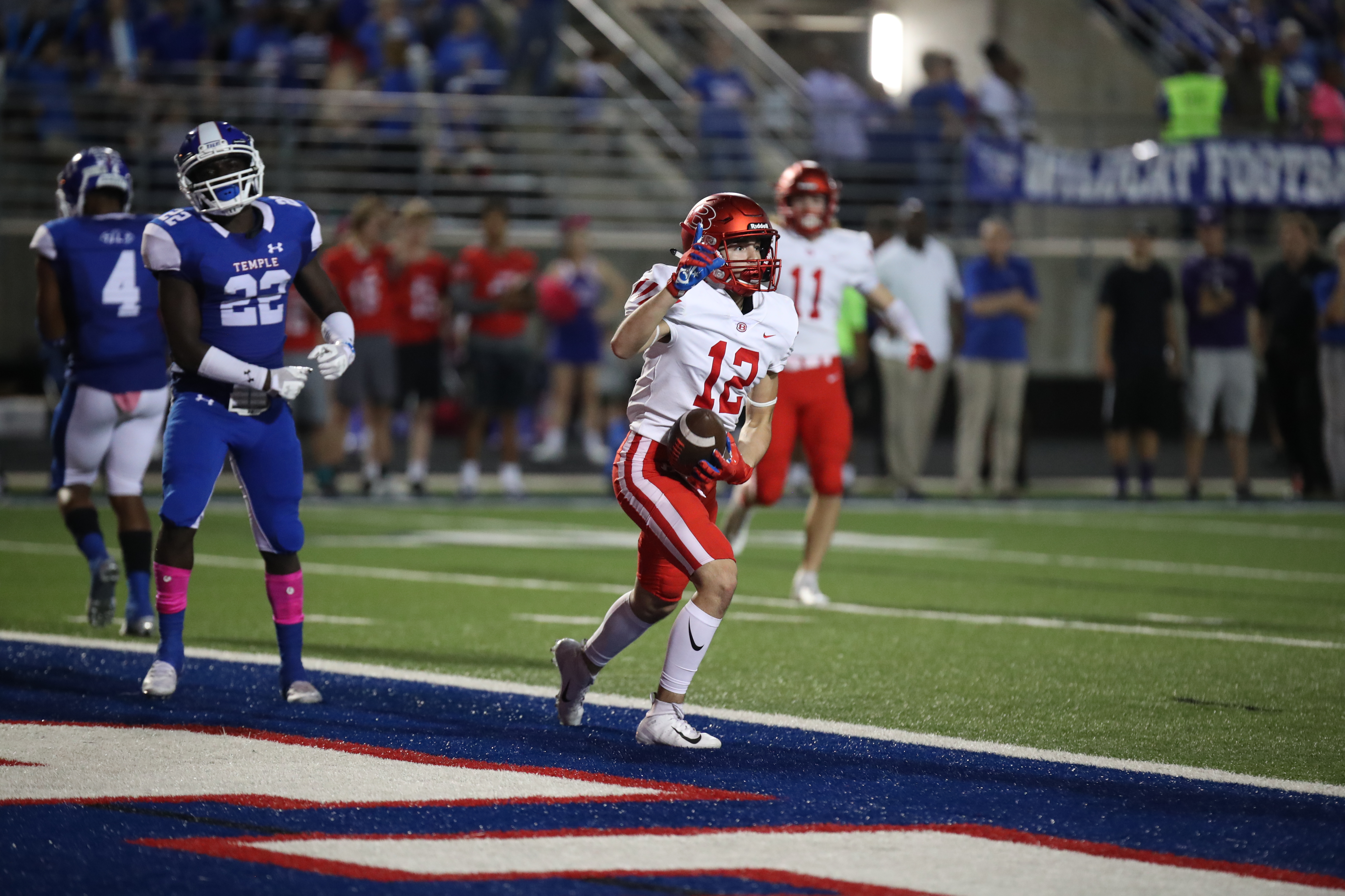 Asset over the middle: Belton receiver Perez willing to make tough catch