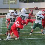 JV White scores 35 answered points, downs Ellison 49-6