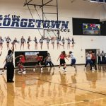 Girls Basketball Compete at Georgetown Scrimmage