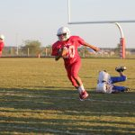 North Belton 7th graders football sweeps Cove Junior High 7th graders