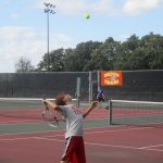 JV Tennis edged out by Georgetown