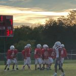 LBMS 8th Grade Football Results vs Midway Red