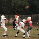 LBMS 8th Grade Football Results vs SBMS