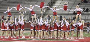 Belton vs Waco High – Cheer Photos