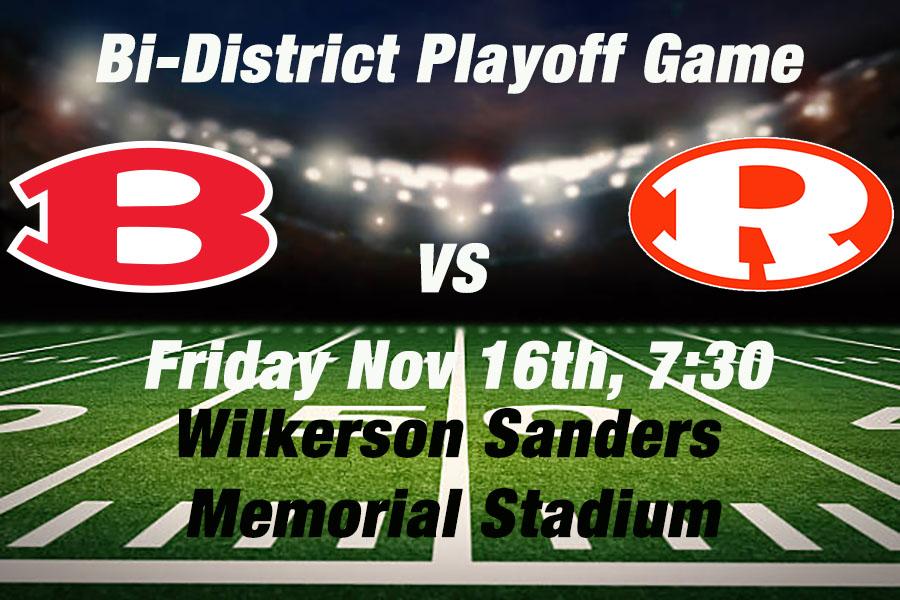 Ticket Sales Information – Bi District Playoff – Belton @ Rockwall