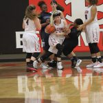 Lady Tigers JV overcome slow start to down Shoemaker 31-19