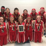 NBMS Girl's Basketball takes 2nd at Georgetown Holiday Hoops Tournament