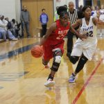 Lady Tigers defensive effort pushes varsity past Temple, 41-34