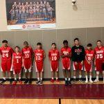 8th Boys basketball results vs Lamar