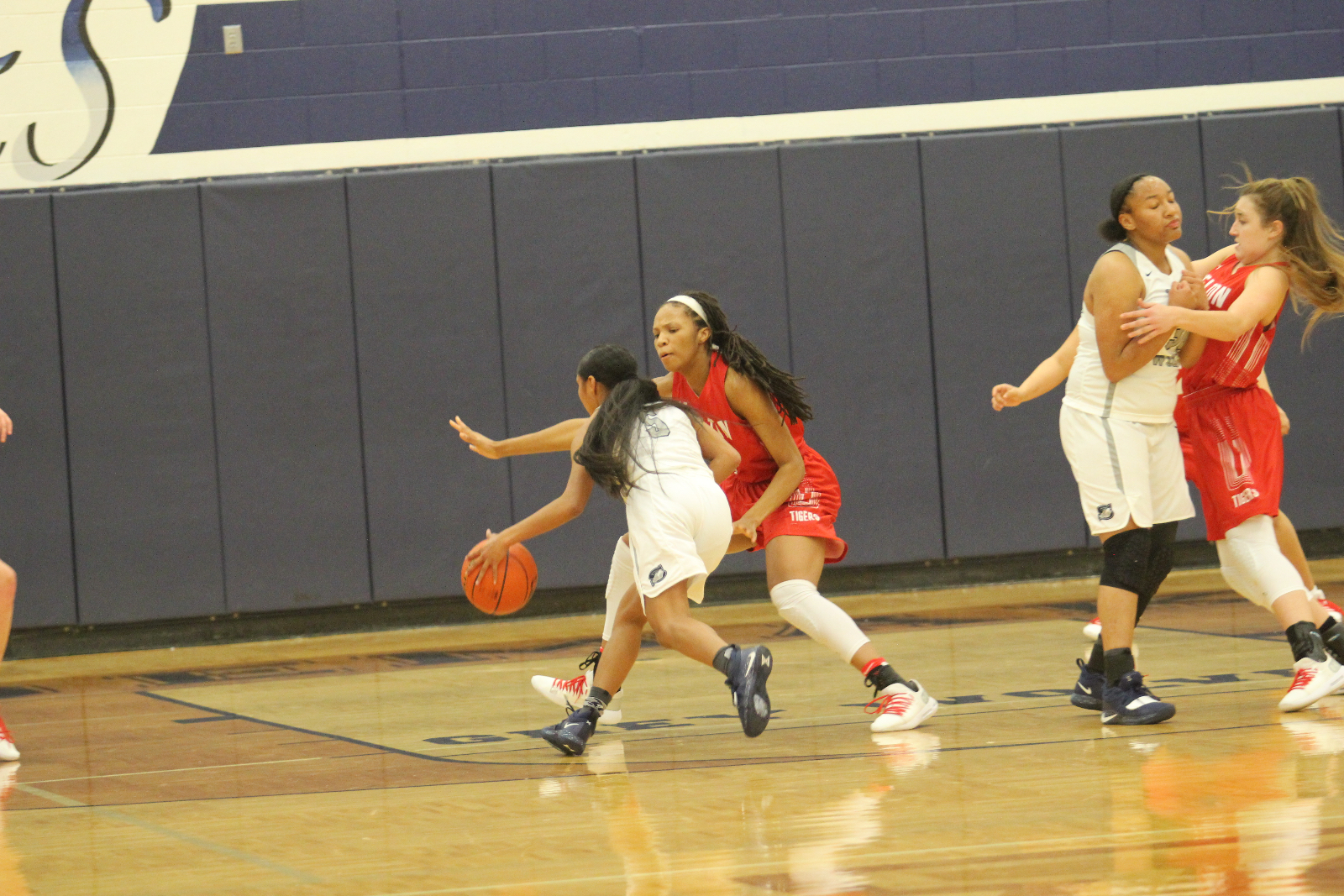 Lady Tigers tough on defense again as they double up Shoemaker, 54-27