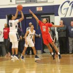 Tigers hold Shoemaker in check early, Grey Wolves break away for 59-30 win