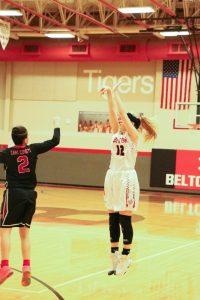 Lady Tiger Basketball vs Harker Heights Photos