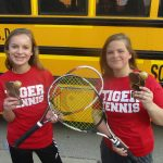Freshman Tennis Competes in First Tournament of the Spring Season
