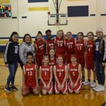 NBMS Girl's Basketball Completes the Season with a WIN