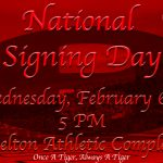 12 Belton Tigers will be signing their NLI's on Wednesday November 6th @ 5:00PM