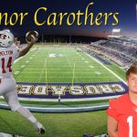 Connor Carothers signs with The University of Mary Hardin Baylor