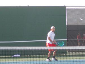 Varsity Tennis at Corsicana Tournament