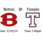 Varsity Baseball @Temple (Itinerary 2/19/19)