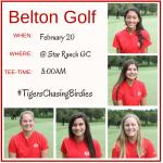 Girls Golf Itinerary at Star Ranch 2/20