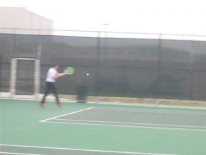 Tiger Tennis at Hendrickson Tournament