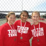 Freshman Tennis competes in Belton Tournament